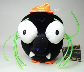 Ooky Kooky Spooky plush - Sam Spider Commonwealth, Ooky Kooky Spooky, Plush, 2001, halloween
