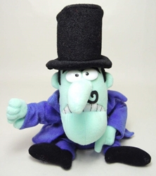 Rocky & Bullwinkle & Friends plush - Snidely Whiplash