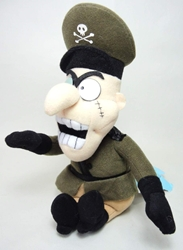 Rocky & Bullwinkle & Friends plush - Fearless Leader Stuffins, Rocky & Bullwinkle & Friends, Plush, 2000, comedy, cartoon