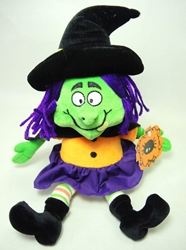 Halloween 12 inch plush - Witch