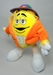 m&m 10 inch plush - yellow m&m - 7692-7687CCCGFC