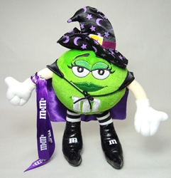 m&m 10 inch plush - green m&m Galerie, M&M, Plush, 2004, animated