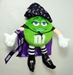 m&m 10 inch plush - green m&m - 7693-7688CCCGFC