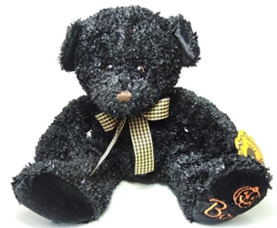 Halloween 15 inch plush - Deluxe Black Bear Russ, Halloween, Plush, 2001, horror, halloween, movie