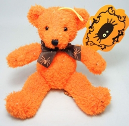 Halloween 8 inch plush - Orange Bear Russ, Halloween, Plush, 2001, horror, halloween, movie