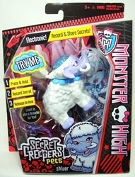 Monster High Secret Creepers Pets  - Shiver (sheep) Mattel, Monster High, Dolls, 2013, teen, fashion, movie