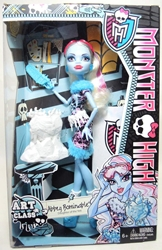 Monster High Art Class Abbey Bominable Mattel, Monster High, Dolls, 2013, teen, fashion, movie