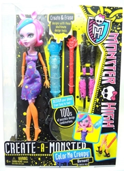 Monster High Create-a-Monster Color Me Creepy - Werewolf Starter Pack Mattel, Monster High, Dolls, 2012, teen, fashion, movie