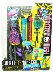 Monster High Create-a-Monster Color Me Creepy - Sea Monster Starter Pack Mattel, Monster High, Dolls, 2012, teen, fashion, movie