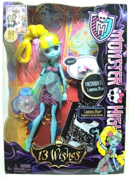 Monster High 13 Wishes Lagoona Blue Mattel, Monster High, Dolls, 2013, teen, fashion, movie
