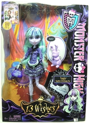 Monster High 13 Wishes Twyla Mattel, Monster High, Dolls, 2013, teen, fashion, movie