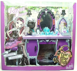 Ever After High - Raven Queen Destiny Vanity Set Mattel, Ever After High, Dolls, 2013, fantasy