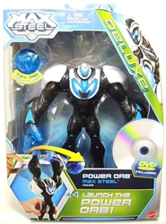 Max Steel - Power Orb Max Steel Figure with DVD Mattel, Max Steel, Action Figures, 2013, adventure