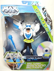 Max Steel - Turbo Flight Max Steel Figure with DVD Mattel, Max Steel, Action Figures, 2013, adventure