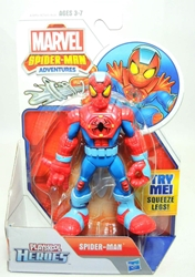 Playskool Marvel Super Hero Adventures - Spider-Man Hasbro, Avengers, Action Figures, 2013, superhero, comic book