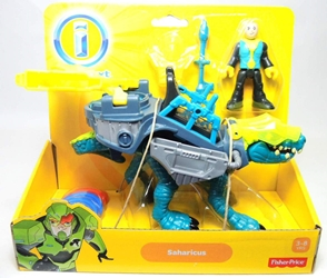 Fisher-Price Imaginext Dinosaur - Saharicus & rider figure Fisher-Price, Imaginext, Action Figures, 2013, adventure