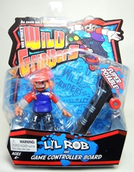 Rob Dyrdeks Wild Grinders - Lil Rob and Game Controller Board Ronin Syndicate, Wild Grinders, Action Figures, 2013, sports, cartoon