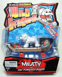 Rob Dyrdeks  Wild Grinders - Meaty & gas-powered board Ronin Syndicate, Wild Grinders, Action Figures, 2013, sports, cartoon