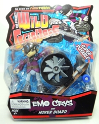 Rob Dyrdeks Wild Grinders - Emo Crys and Hover Board Ronin Syndicate, Wild Grinders, Action Figures, 2013, sports, cartoon