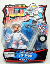 Rob Dyrdeks Wild Grinders -Astronaut Lil Rob and Moon Board Ronin Syndicate, Wild Grinders, Action Figures, 2013, sports, cartoon