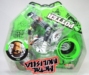 Metal Mulisha 1:12 Bike And Rider - Todd Potter (green packaging) Ronin Syndicate, Metal Mulisha, Action Figures, 2013, animated