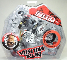 Metal Mulisha 1:12 Bike And Rider - Todd Potter Ronin Syndicate, Metal Mulisha, Action Figures, 2011, animated