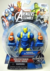 Hasbro Avengers Assemble 4 inch figure - Voltstrike Iron Man Hasbro, Avengers, Action Figures, 2013, superhero, comic book