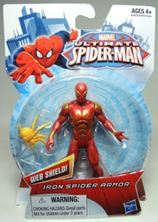 Hasbro Ultimate Spider-Man 4 inch figure - Iron Spider Armor Hasbro, Spider-Man, Action Figures, 2013, superhero, comic book