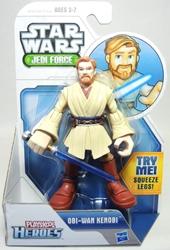 Playskool Star Wars Jedi Force 5 inch figure - Obi-Wan Kenobi Playskool, Star Wars, Action Figures, 2013, scifi, movie