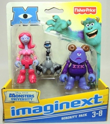 Fisher-Price Imaginext Monsters University 3 inch Sorority Pack Fisher-Price, Imaginext, Action Figures, 2012, adventure
