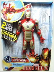 Hasbro Iron Man 3 - Arc Strike Iron Man 10 inch figure
