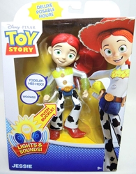 Toy Story Talk and Glow Deluxe 7 inch Jessie figure Mattel, Toy Story, Action Figures, 2012, animated, movie