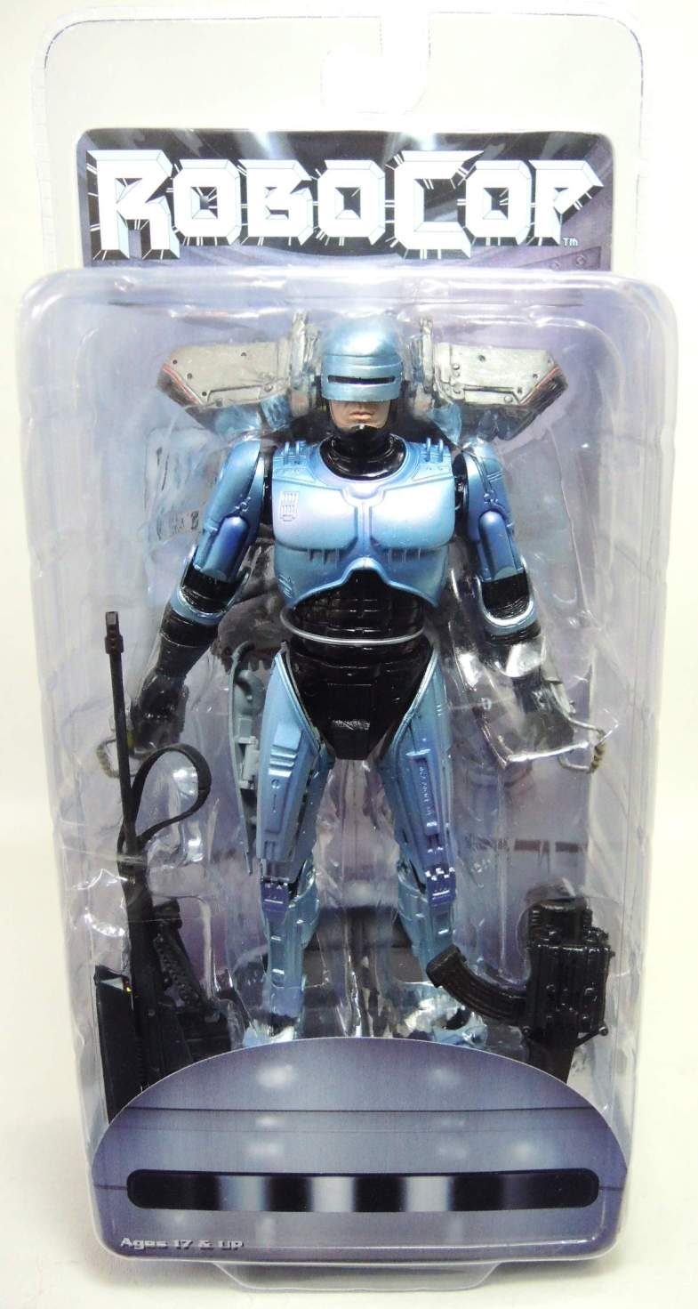 NECA Robocop Ultra Deluxe 7 inch figure with Jetpack & Cannon