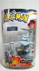 Pokemon Legendary Figures - White Kyurem 3 inch Tomy, Pokemon, Action Figures, 2013, animated, game