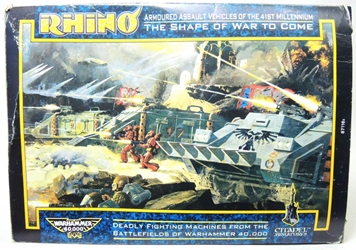 Citadel Miniatures Warhammer 40000 Rhino Tanks Model Kit Set Citadel Miniatures, Warhammer, Military, 1988, fantasy