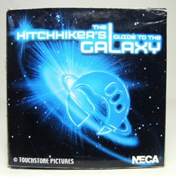 NECA Hitchhikers Guide to the Galaxy - Laser-engraved Acrylic Paper Weight