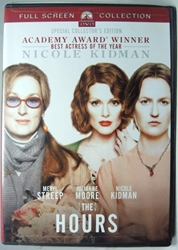 The Hours - Full Screen DVD Paramount, The Hours, DVD, 2002, action, book
