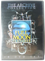 Crash & Burn DVD from the Archive Collection Full Moon, Crash & Burn, DVD, 1990, scifi, movie