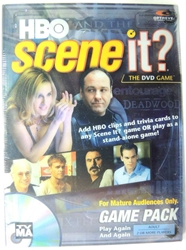 Scene It? The DVD Game - HBO Edition Expansion Pack Mattel, Scene It?, Games, 2005