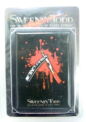 NECA Sweeney Todd ID case NECA, Sweeney Todd, Action Figures, 2007, horror, halloween, movie