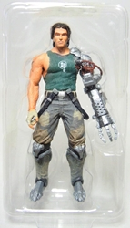 NECA Bionic Commando  4 inch fig - Nathan Rad Spencer NECA, Bionic Commando, Action Figures, 2009, scifi, video game