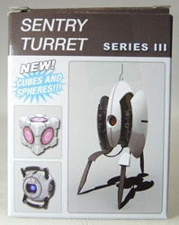 NECA Wizkids Portal 2 Series III Blind Box (Sentries Cubes & Spheres) NECA, Portal, Action Figures, 2014, scifi, video game