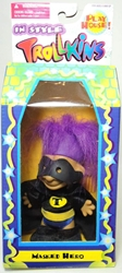 Trollkins 5 inch Masked Hero 1998 The Original San Francisco Toymakers, Trollkins, Action Figures, 1998, fantasy, animated