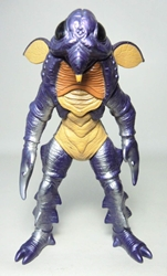 Bandai 1993 Power Rangers Evil Alien Guitardo 7.2 inch Bandai, Power Rangers, Action Figures, 1993, scifi, tv show