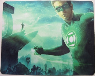 Green Lantern mouse pad - Ryan Reynolds as the Green Lantern China, Green Lantern, Mouse Pads, 2015, scifi, movie