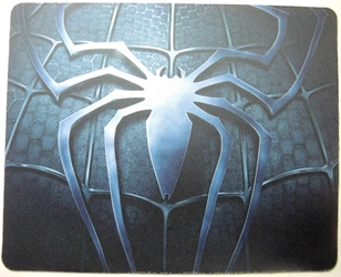 Spider-Man mouse pad - Spider-Man logo (grey) China, Spider-Man, Mouse Pads, 2015, superhero, comic book