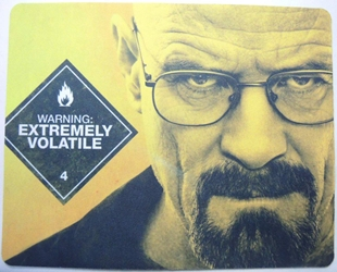 Breaking Bad mouse pad - Walter White aka Heisenberg China, Breaking Bad, Mouse Pads, 2015, action, tv show