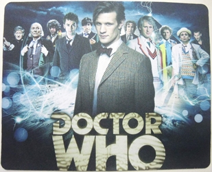 Doctor Who mouse pad - Matt Smith the Eleventh Doctor China, Doctor Who, Mouse Pads, 2015, scifi, tv show