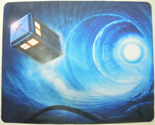 Doctor Who mouse pad - The Time-Travelling Tardis China, Doctor Who, Mouse Pads, 2015, scifi, tv show