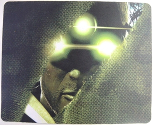 Splinter Cell mouse pad - Sonar Goggles China, Splinter Cell, Mouse Pads, 2015, action, video game
